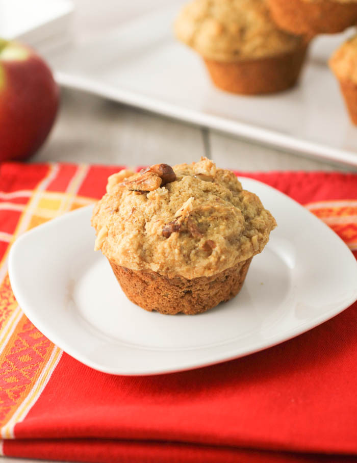 Is Applesauce Healthy  Applesauce Muffins MuffinMonday citronlimette