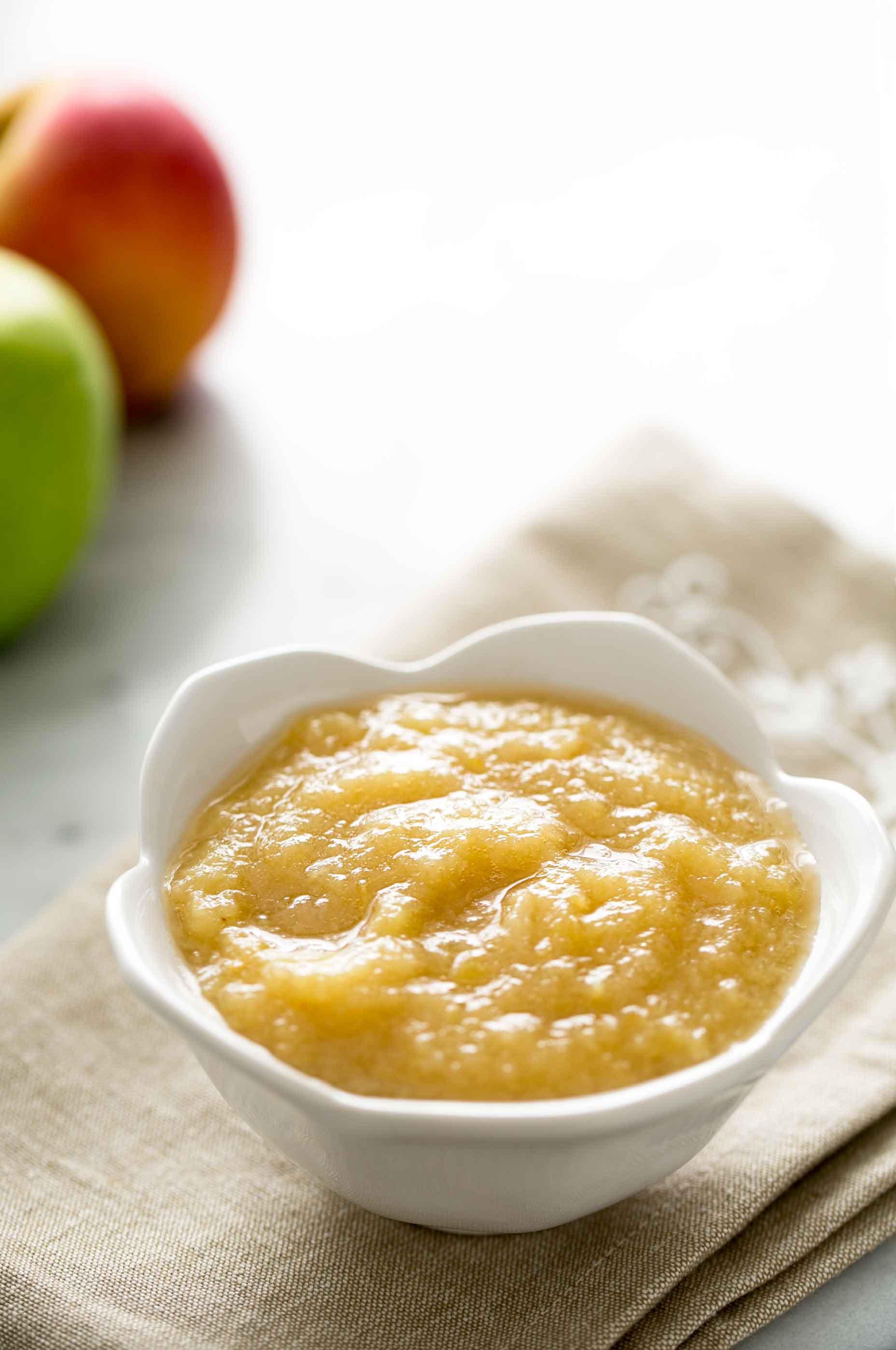 Is Applesauce Healthy  Homemade Applesauce