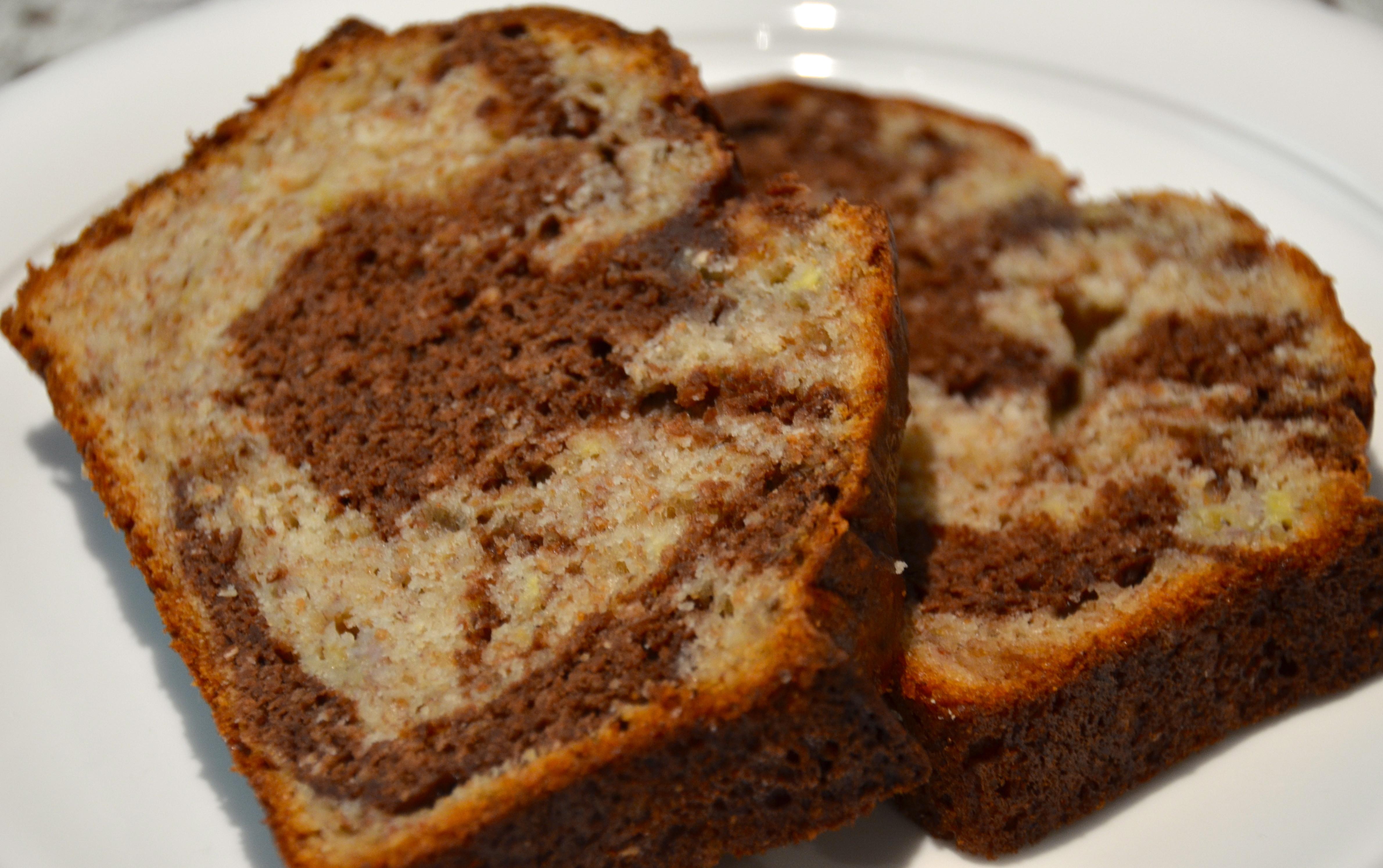 Is Bread Healthy  Healthy Marble Banana Bread