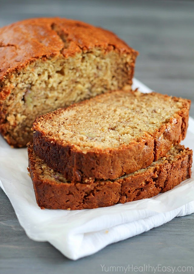 Is Bread Healthy  Healthy Banana Bread Yummy Healthy Easy