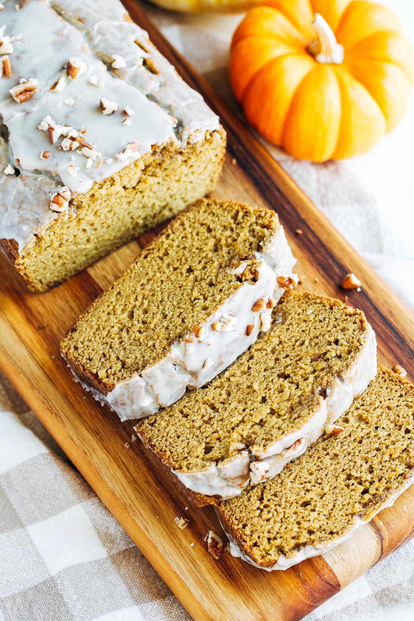 Is Bread Healthy  Healthy Pumpkin Bread Gluten free & Dairy free Making