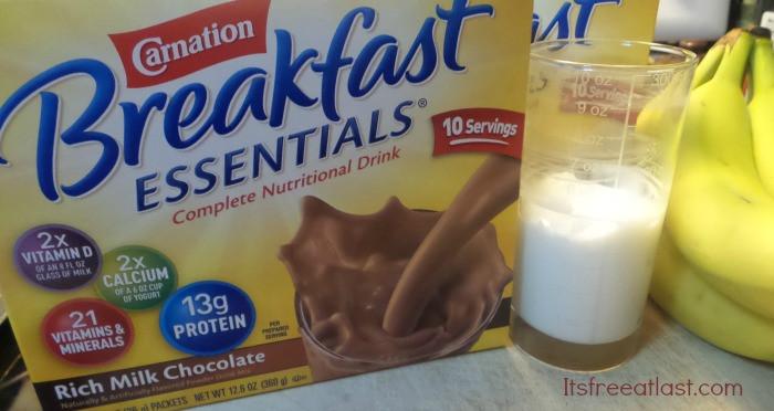 Is Breakfast Essentials Healthy  Healthy Breakfast Smoothie under 325 Calories with