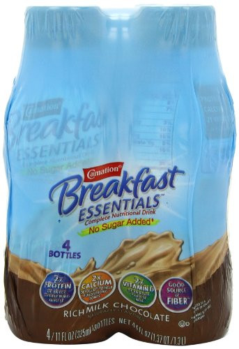 Is Breakfast Essentials Healthy  Carnation Breakfast Essentials Ready to Dr By