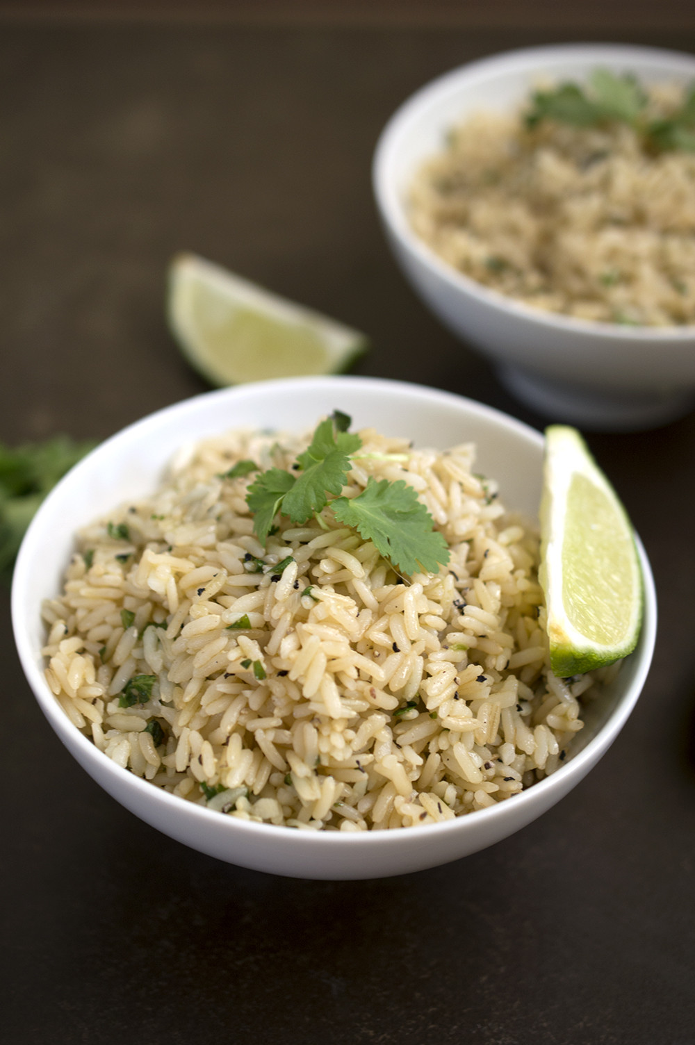 Is Brown Rice Healthy  Cilantro Lime Brown Rice by chefsavvy