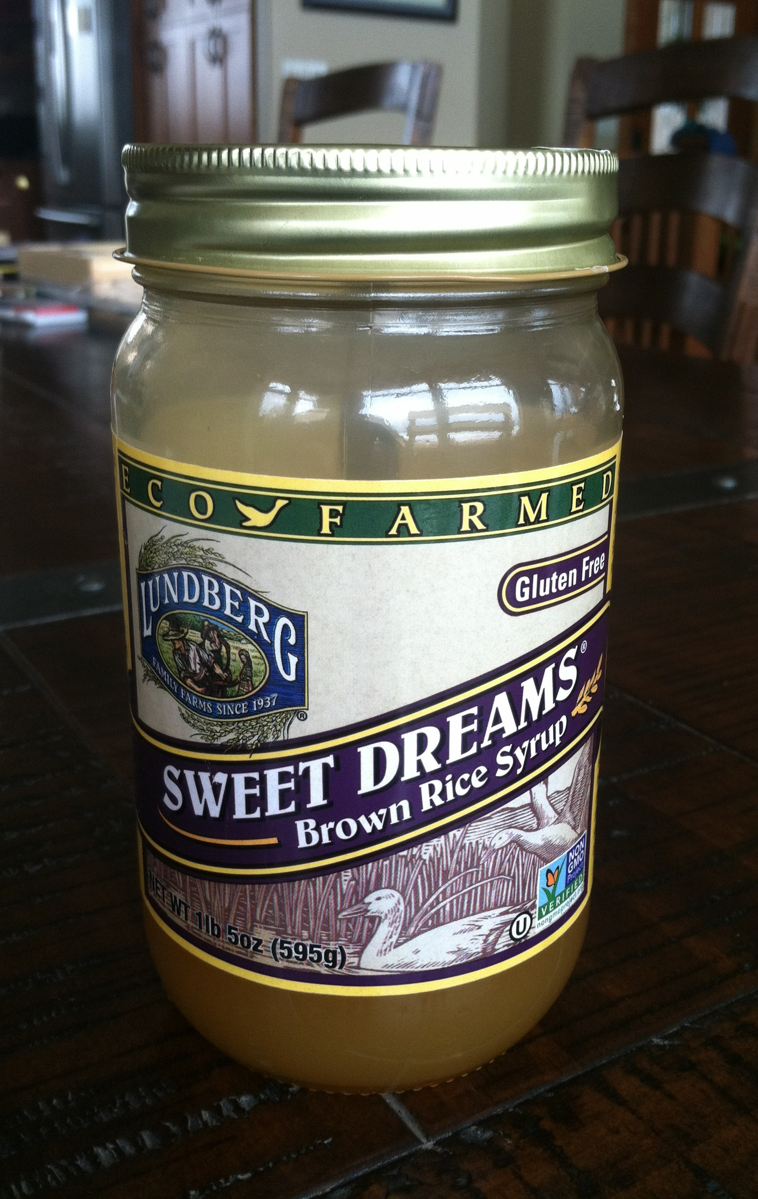 Is Brown Rice Syrup Healthy  Product Review Sweet Dreams Brown Rice Syrup At My