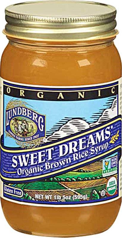 Is Brown Rice Syrup Healthy  Lundberg Farms Organic Brown Rice Syrup 21 oz 6 Pack