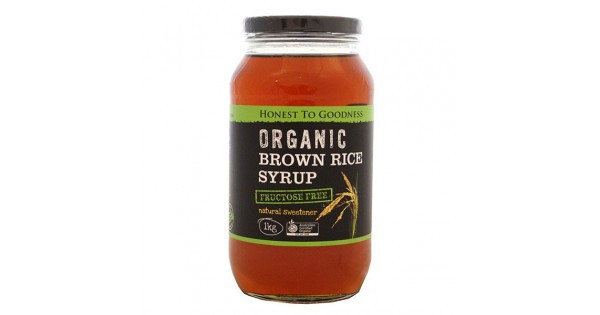 Is Brown Rice Syrup Healthy  Organic Rice Malt Syrup