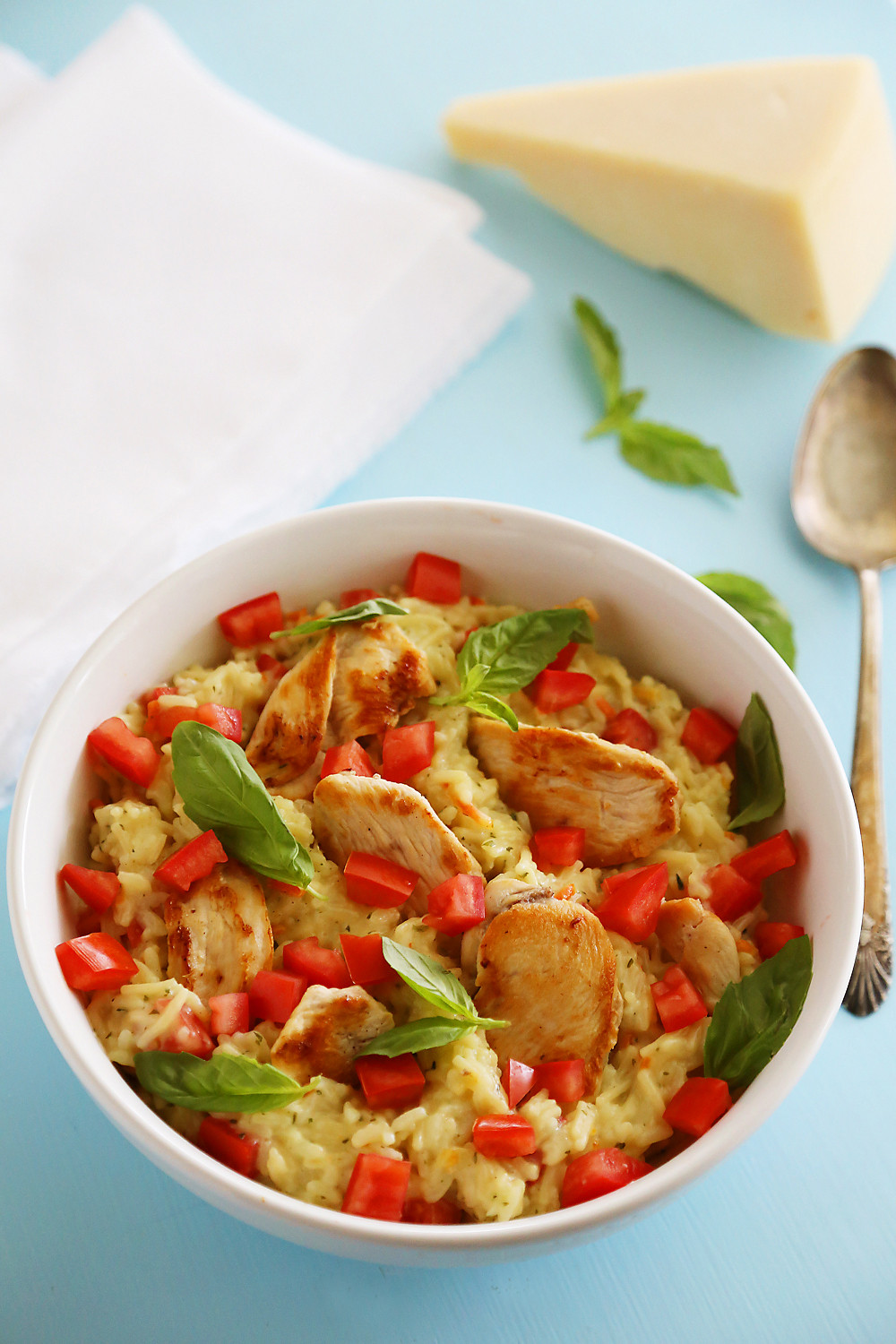 Is Bruschetta Healthy  Creamy Bruschetta Chicken and Rice