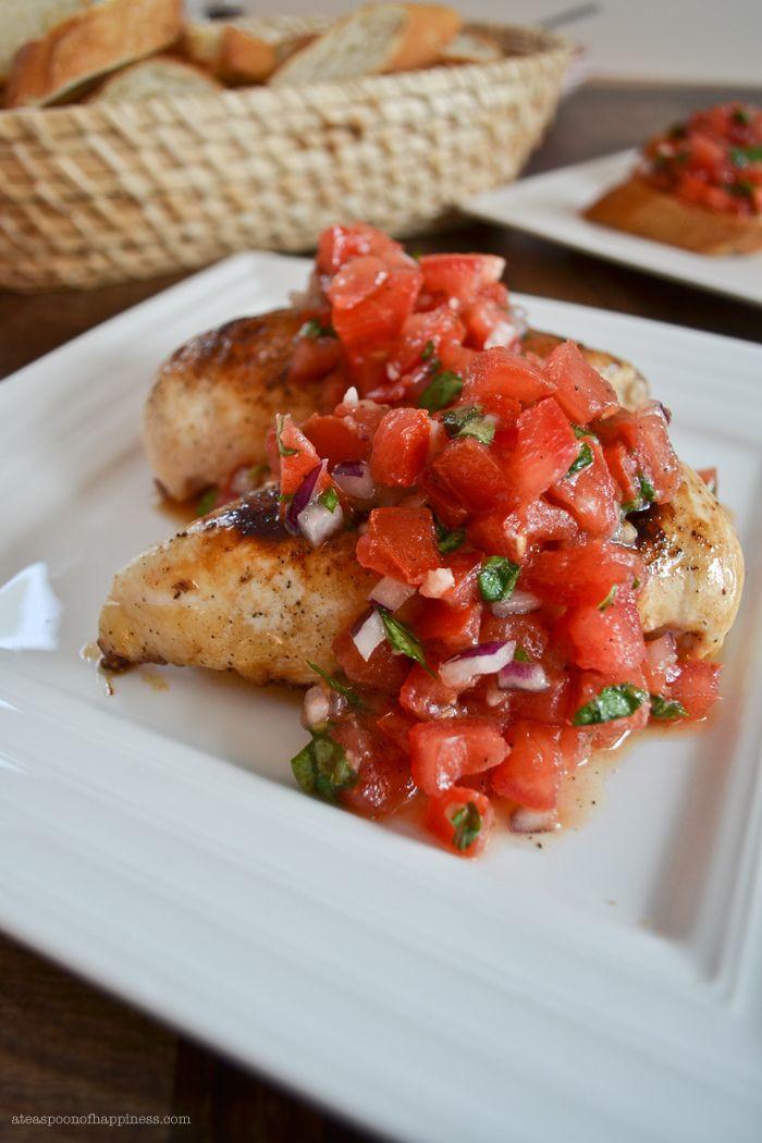 Is Bruschetta Healthy  26 best images about Bruschetta chicken on Pinterest