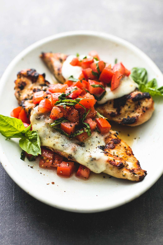 Is Bruschetta Healthy  Grilled Bruschetta Chicken