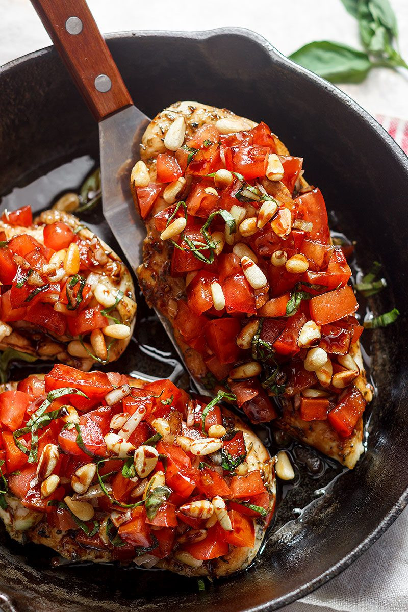 Is Bruschetta Healthy  Bruschetta Chicken Recipe — Eatwell101