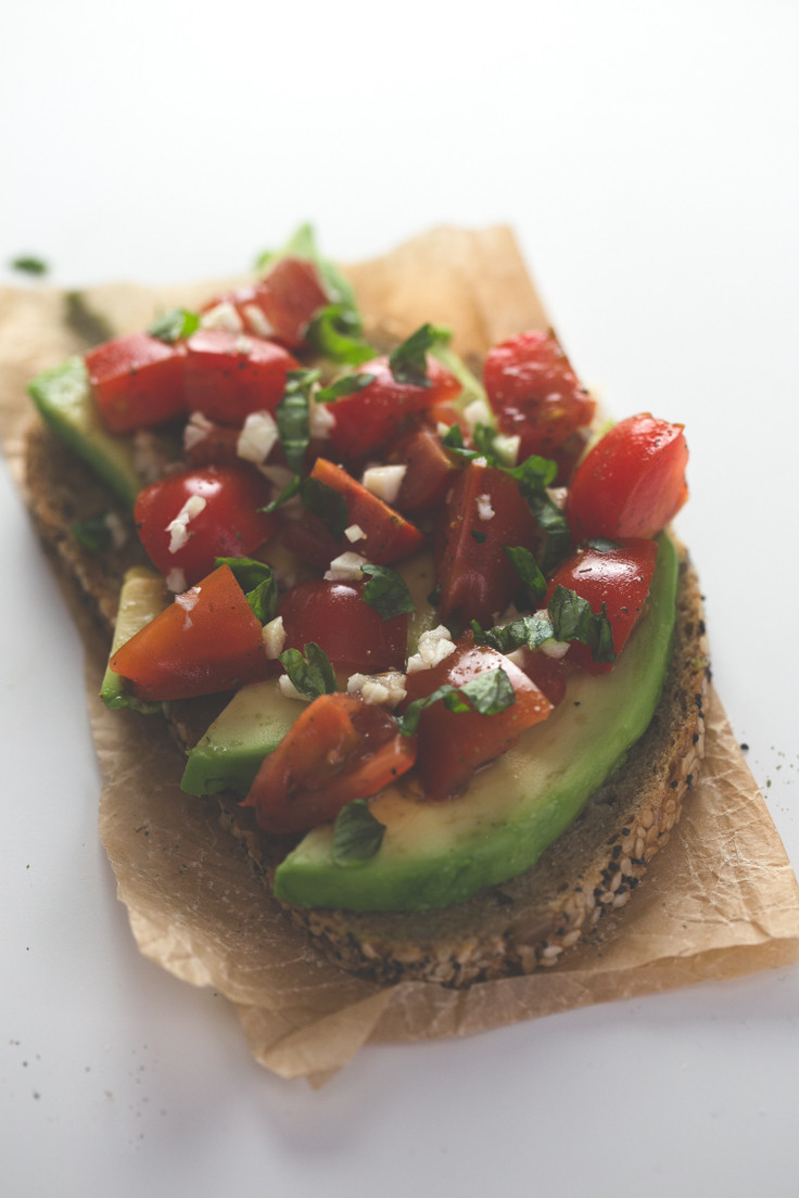 Is Bruschetta Healthy  Avocado Tomato Bruschetta