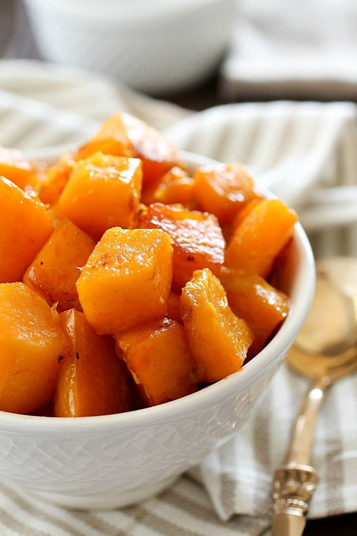 Is Butternut Squash Healthy  Caramelized Butternut Squash Yummy Healthy Easy