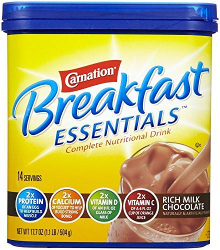 Is Carnation Instant Breakfast Healthy  Carnation Instant Breakfast Powder Rich Milk Chocolate