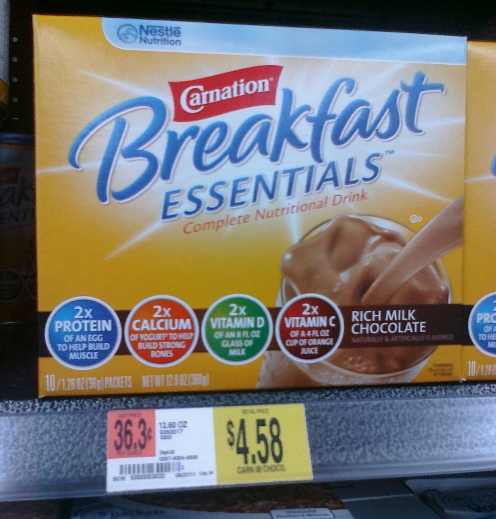 Is Carnation Instant Breakfast Healthy  New $1 50 off Carnation Instant Breakfast Coupon Deal at