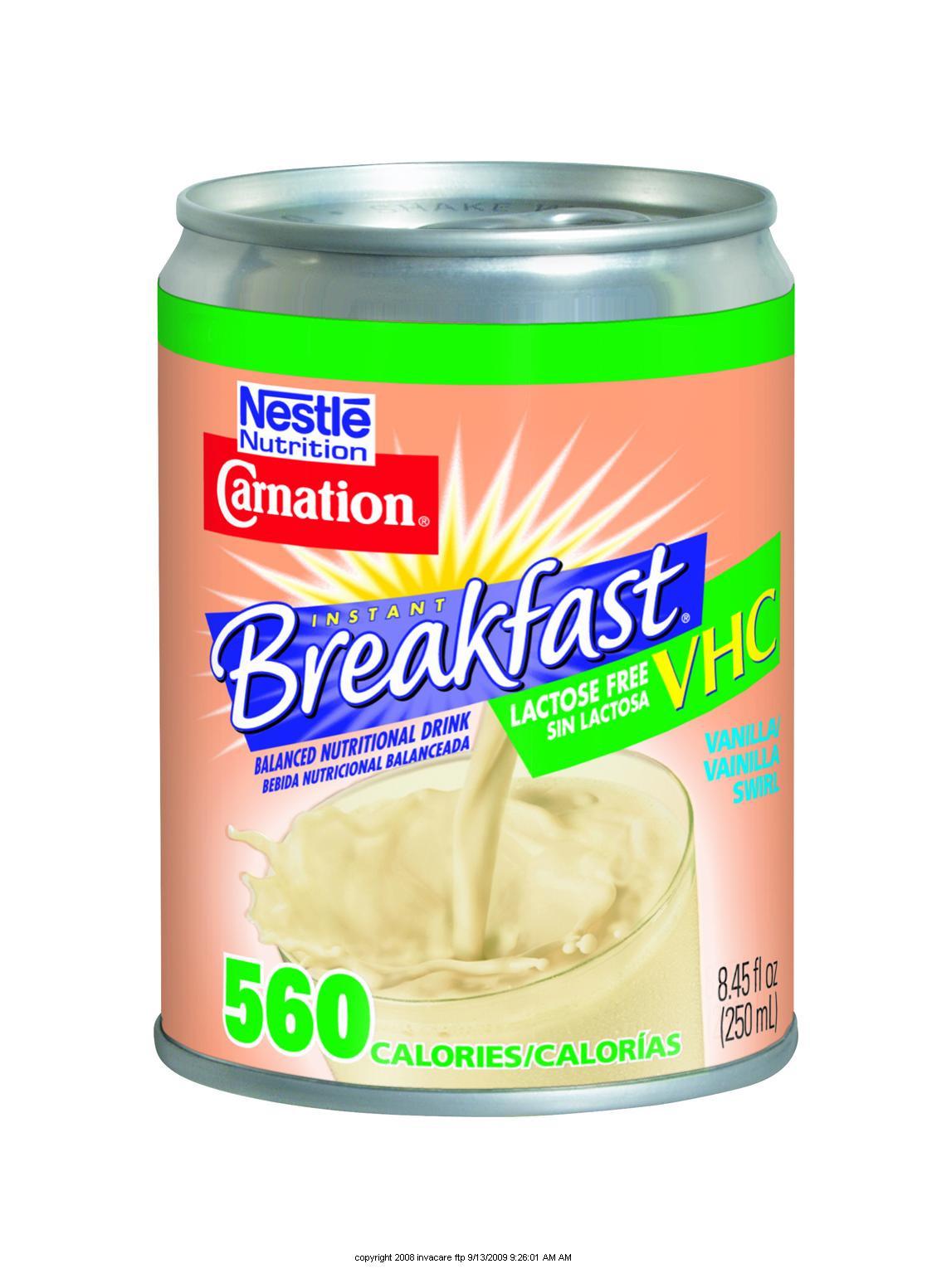 Is Carnation Instant Breakfast Healthy  Carnation Instant Breakfast Lactose Free VHC Cib Lactose