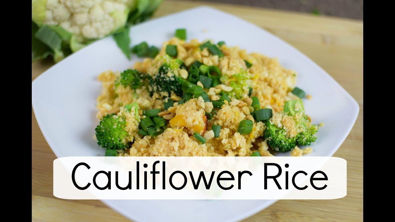 Is Cauliflower Healthy  Healthy Fried Rice