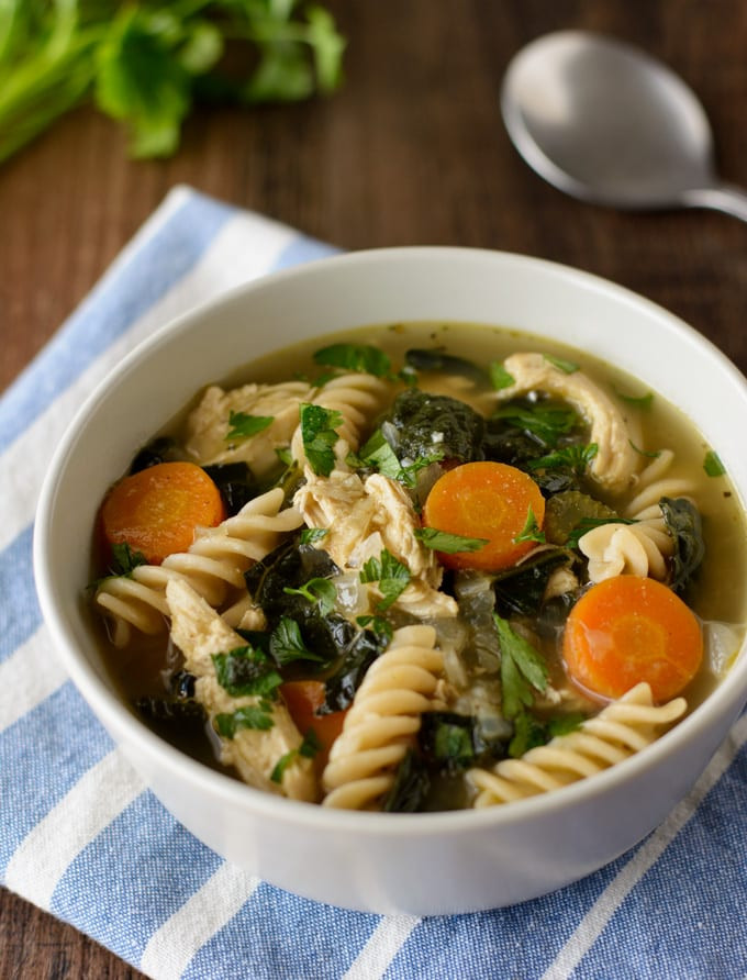 Is Chicken Noodle Soup Healthy  Healthy Chicken Noodle Soup Healthier Dishes