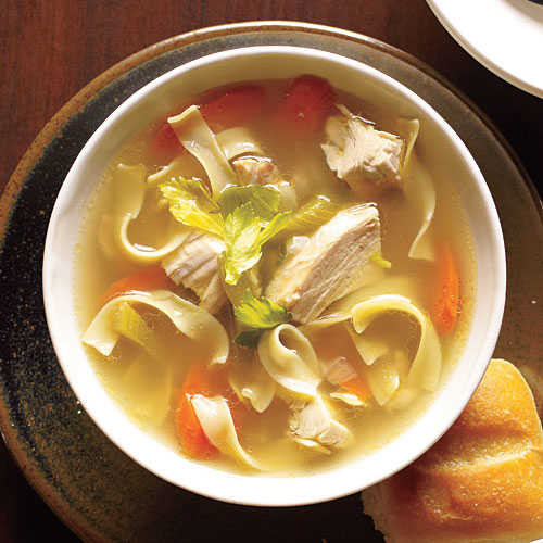Is Chicken Noodle Soup Healthy  forting Chicken Soup Recipes Cooking Light