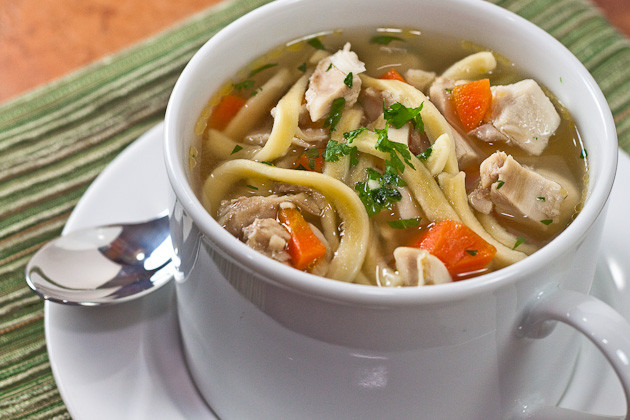 Is Chicken Noodle Soup Healthy  Healthy Chicken Noodle Soup