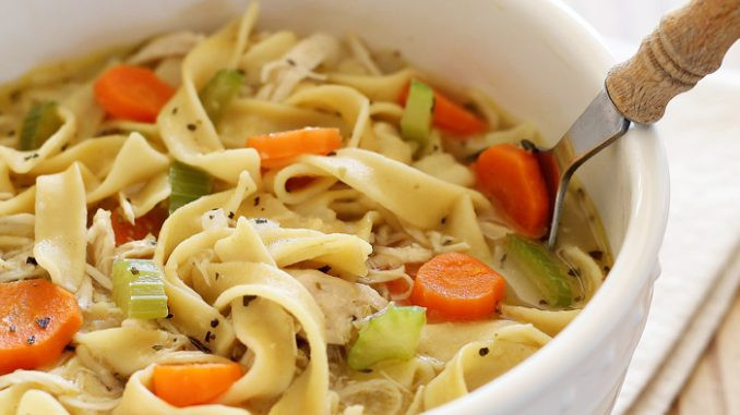 Is Chicken Noodle Soup Healthy  Healthy chicken noodle soup recipe about health