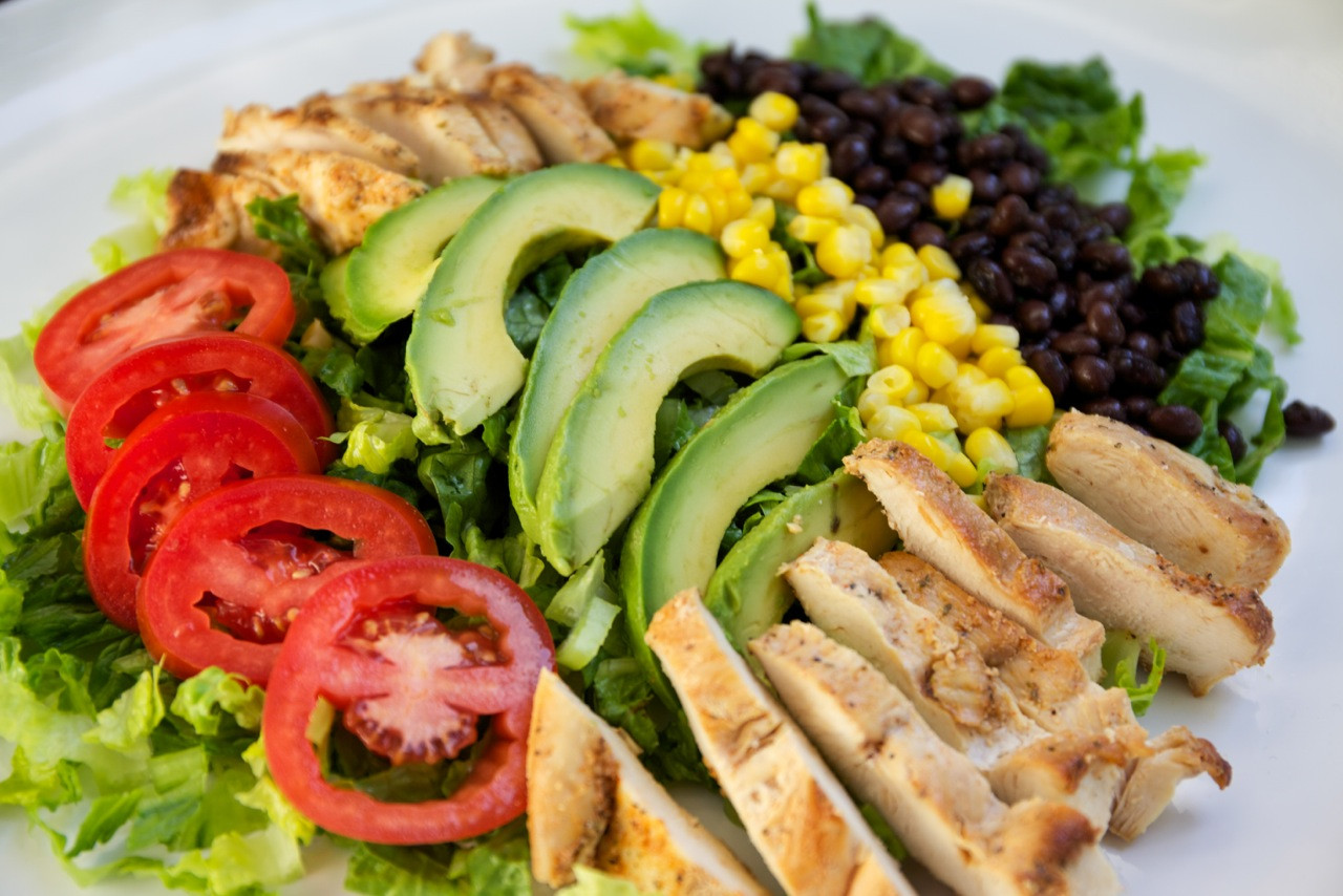 Is Chicken Salad Healthy  Chipotle Chicken Salad — My Healthy Dish