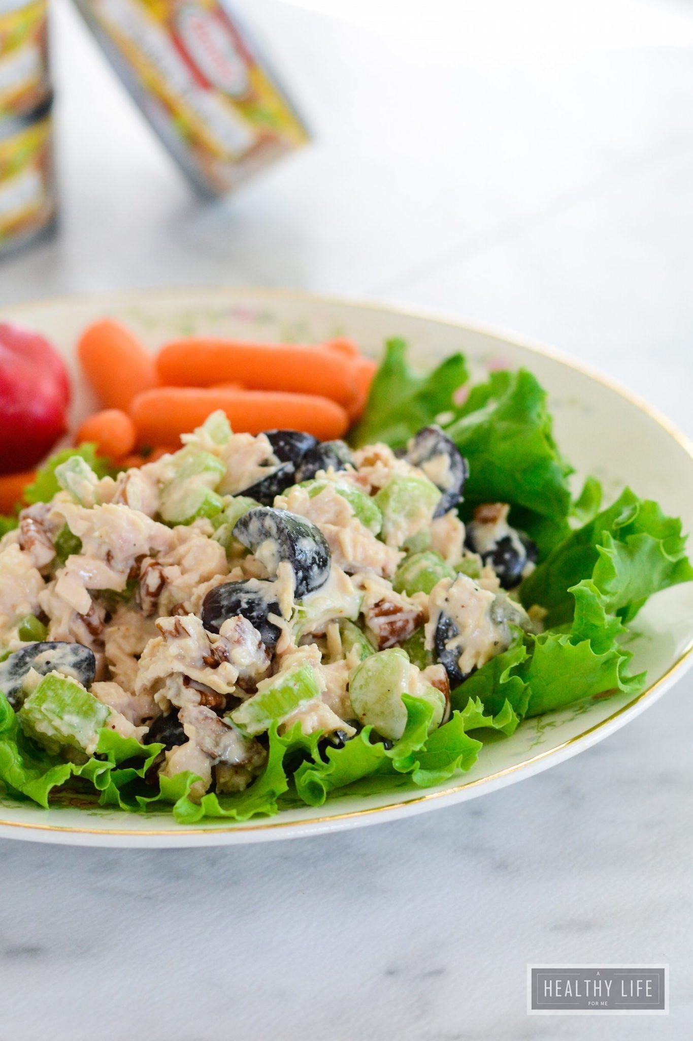 Is Chicken Salad Healthy  5 Minute Chicken Salad gluten free A Healthy Life For Me
