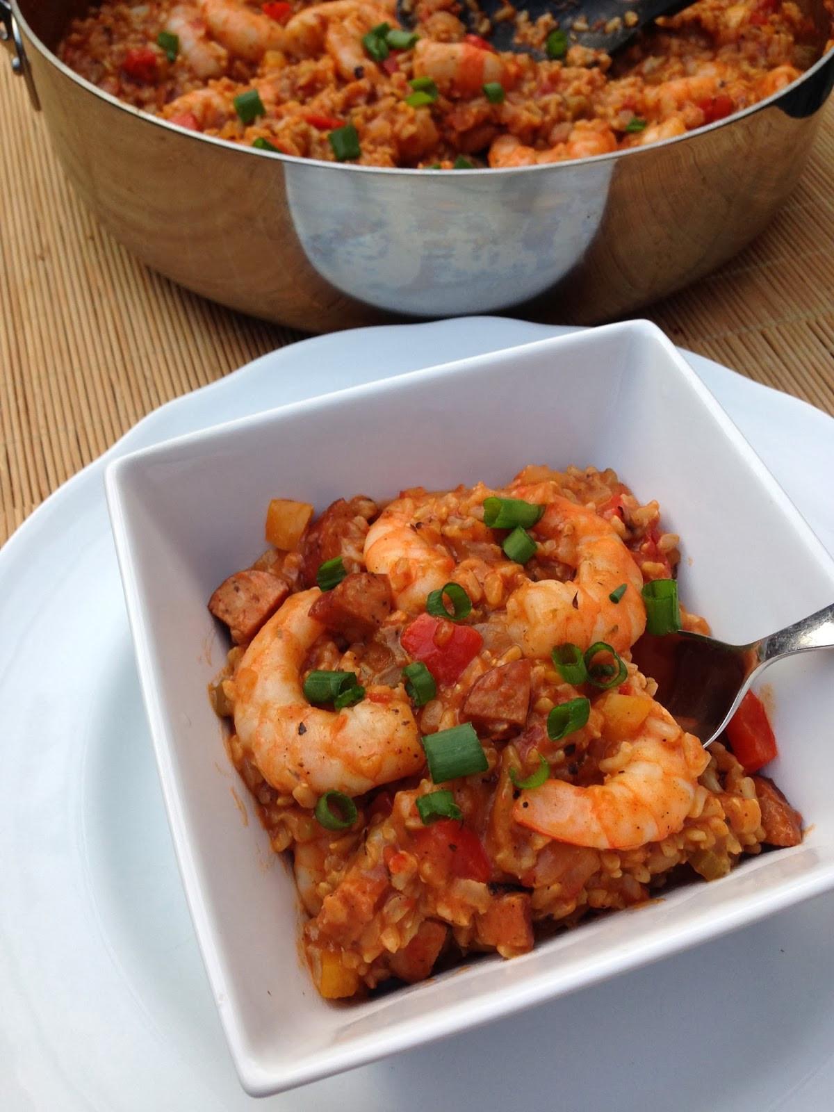 Is Chicken Sausage Healthy  taylor made healthy chicken sausage & shrimp jambalaya