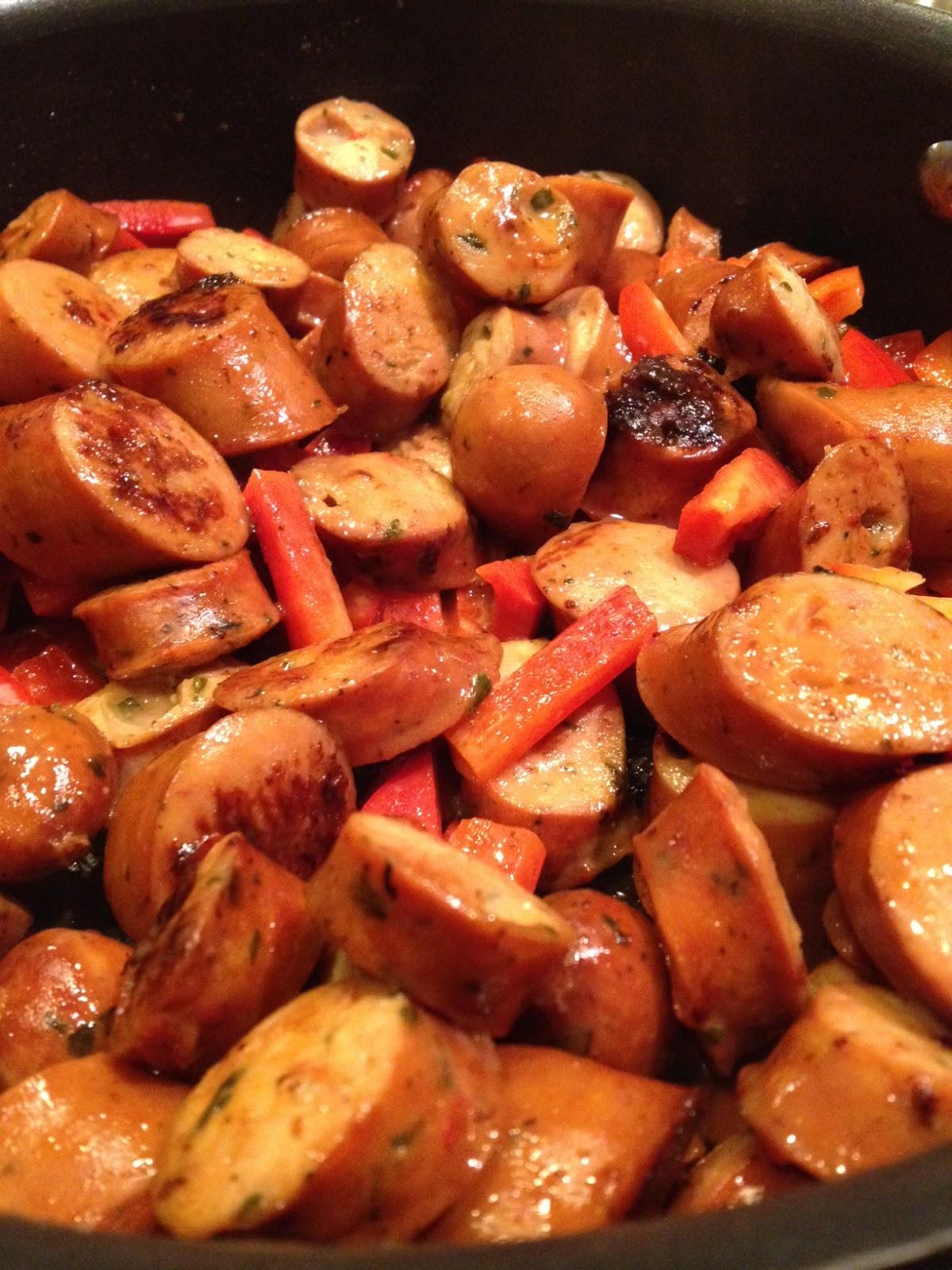 Is Chicken Sausage Healthy  A Healthy Makeover Chicken Sausage & Veggie Pasta
