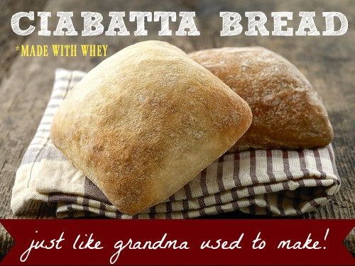 Is Ciabatta Bread Healthy  Grandma's Ciabatta Bread Made With Whey