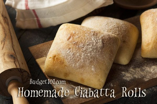 Is Ciabatta Bread Healthy  Bud 101 Homemade Ciabatta Buns
