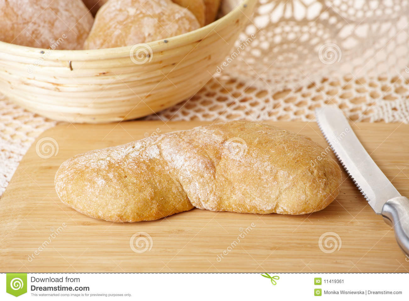 Is Ciabatta Bread Healthy  Fresh And Healthy Ciabatta Bread Stock Image Image