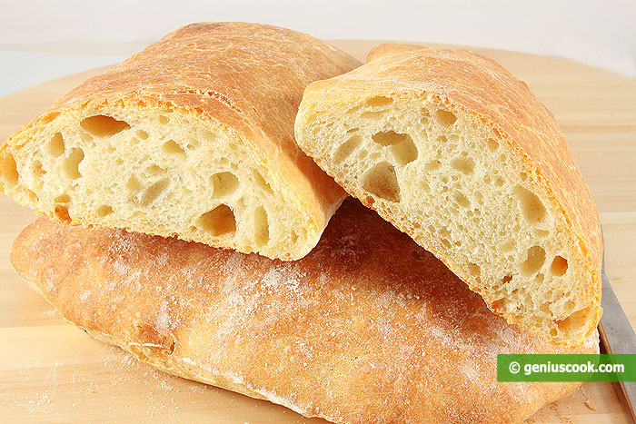 Is Ciabatta Bread Healthy  Italian Bread Ciabatta Recipe Baked Goods