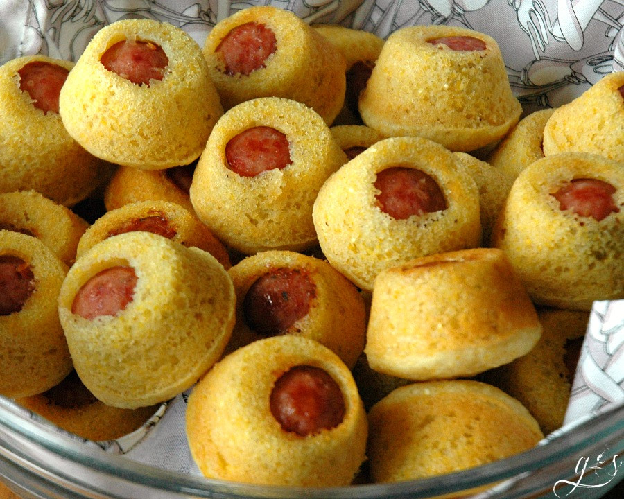 Is Corn Healthy For Dogs  Gluten Free Corn Dog Muffin Bites