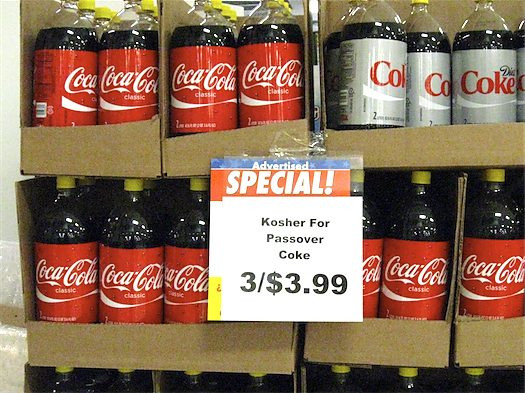 Is Corn Kosher For Passover  Kosher for Passover Coke