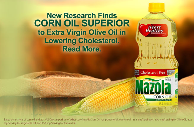 Is Corn Oil Healthy  Mazola Cooking Oil