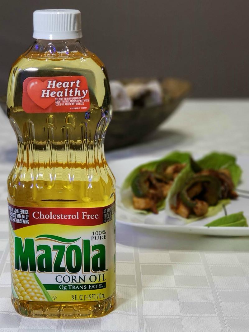 Is Corn Oil Healthy  Heart Healthy Chicken Fajitas with Mazola Corn Oil
