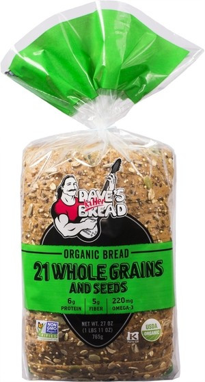 Is Dave'S Killer Bread Healthy  Dave s Killer Bread 21 Whole Grains and Seeds Organic Bread