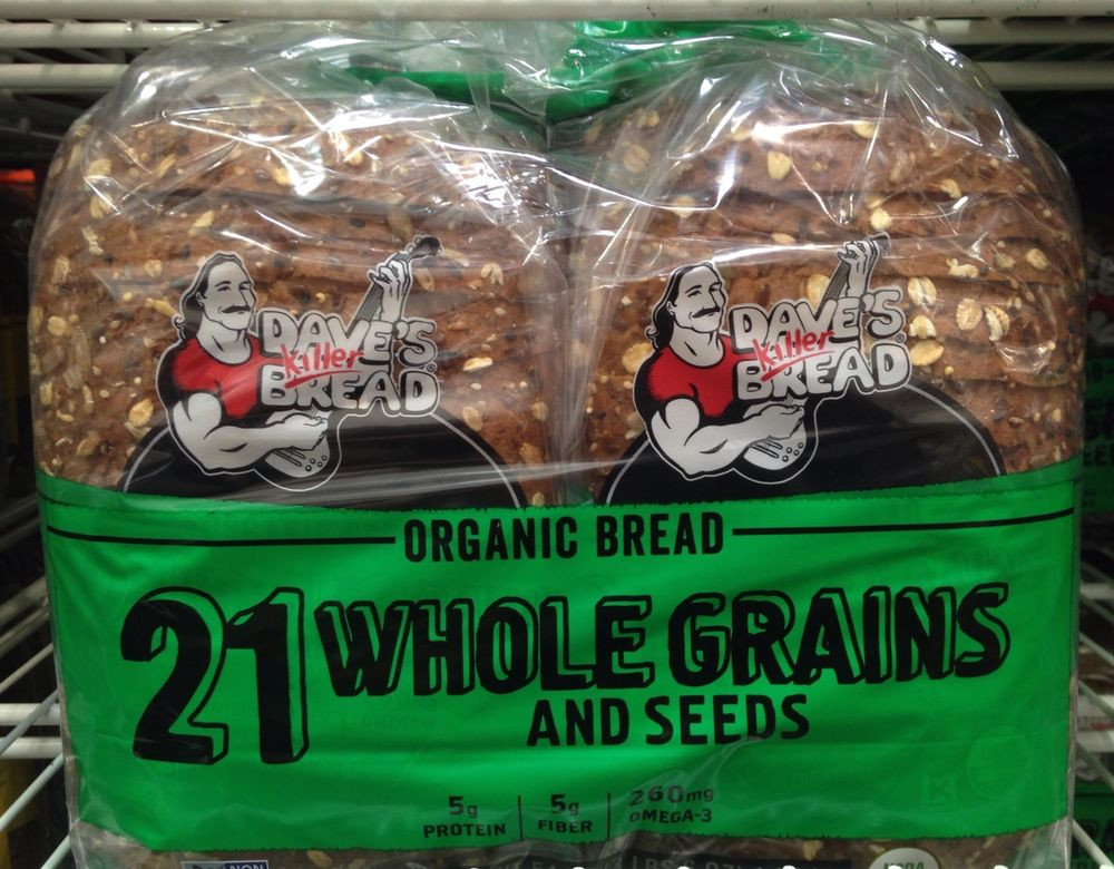 Is Dave'S Killer Bread Healthy  Dave s Killer Bread 21 WHOLE GRAINS AND SEEDS Organic