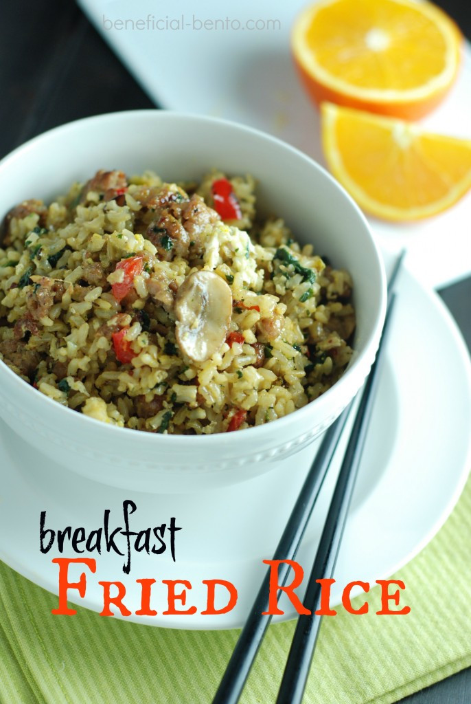 Is Eating Rice For Breakfast Healthy  Breakfast Fried Rice Recipe Beneficial Bento