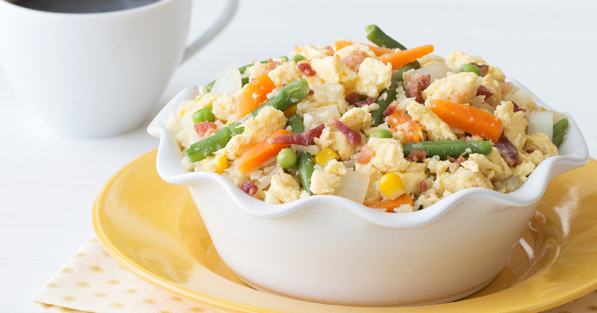 Is Eating Rice For Breakfast Healthy  Healthy Breakfast Cauliflower Fried Rice Recipe