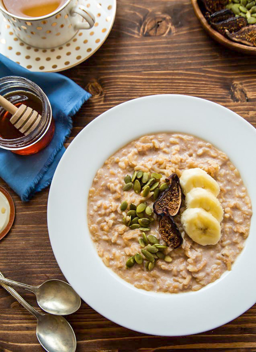 Is Eating Rice For Breakfast Healthy  Vegan Rice Pudding