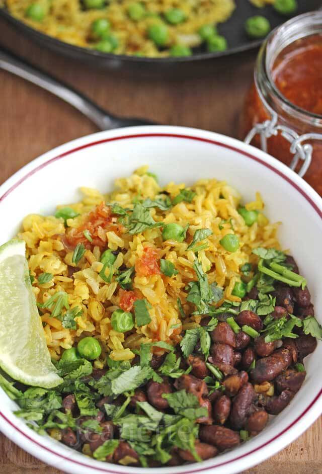 Is Eating Rice For Breakfast Healthy  Burmese Fried Rice with Green Peas and Shallots Jeanette