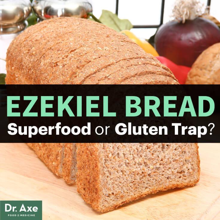 Is Ezekiel Bread Healthy  Ezekiel Bread Superfood or Gluten Trap Dr Axe