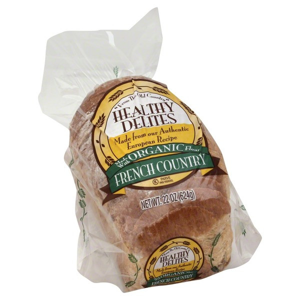 Is French Bread Healthy  Healthy Delites Bread French Country Made with Organic