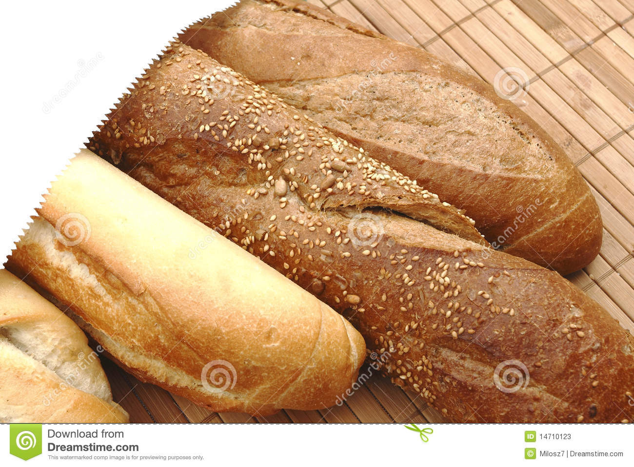 Is French Bread Healthy  French bread stock image Image of food healthy brown