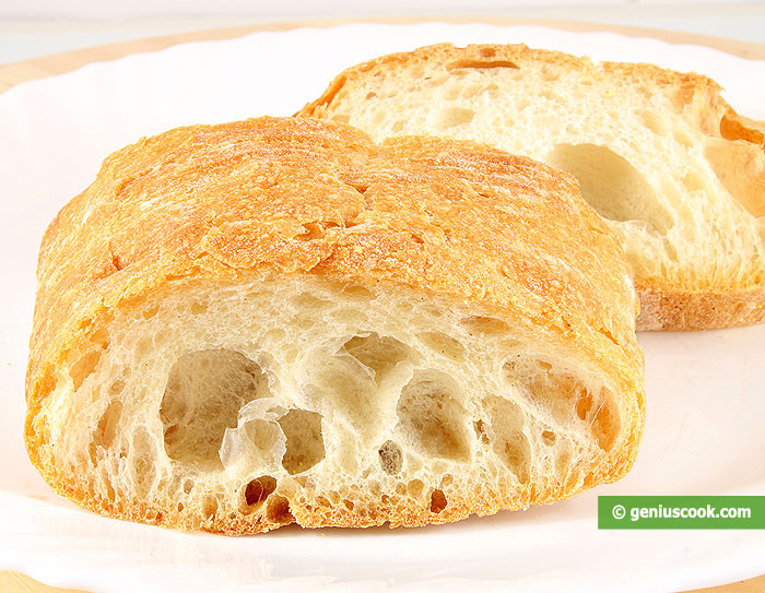 Is French Bread Healthy  Italian Bread Ciabatta Recipe Baked Goods