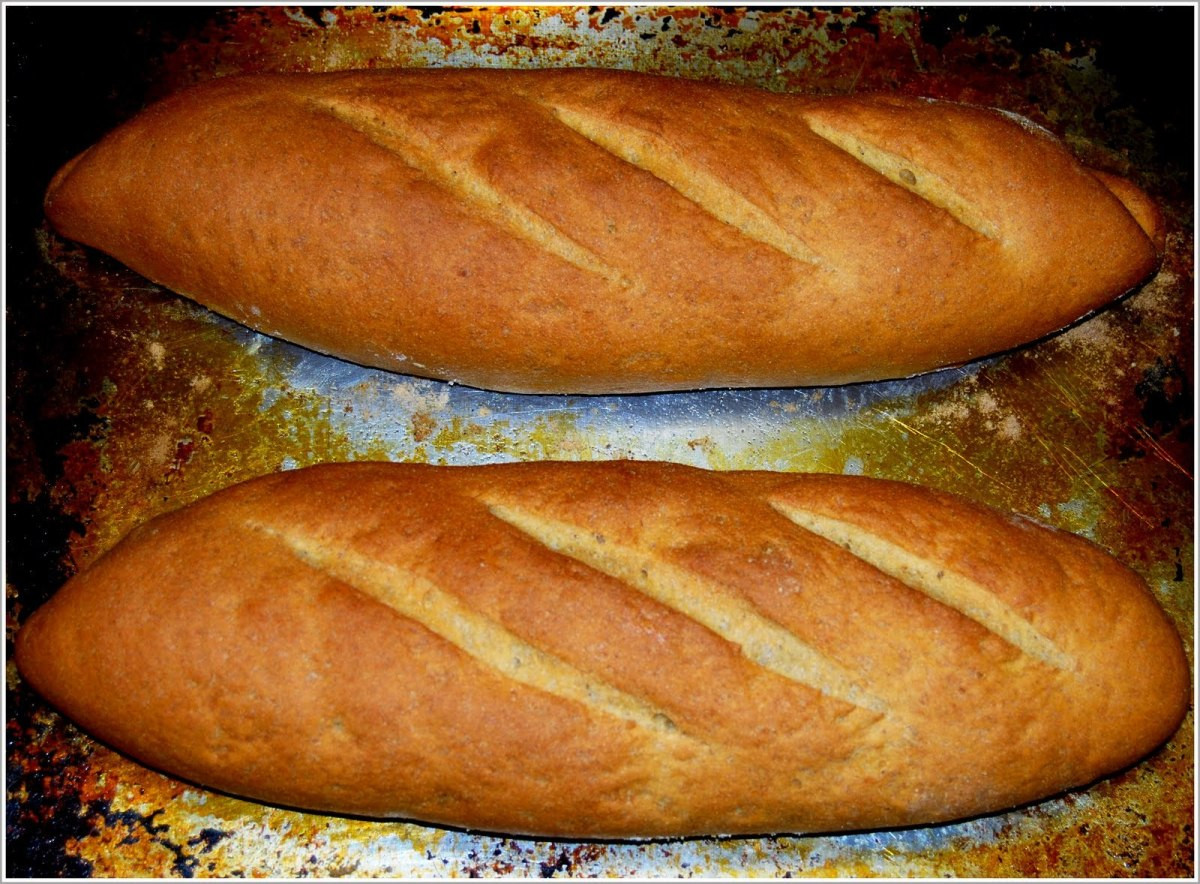 Is French Bread Healthy  Whole Wheat French Bread [Vegan]