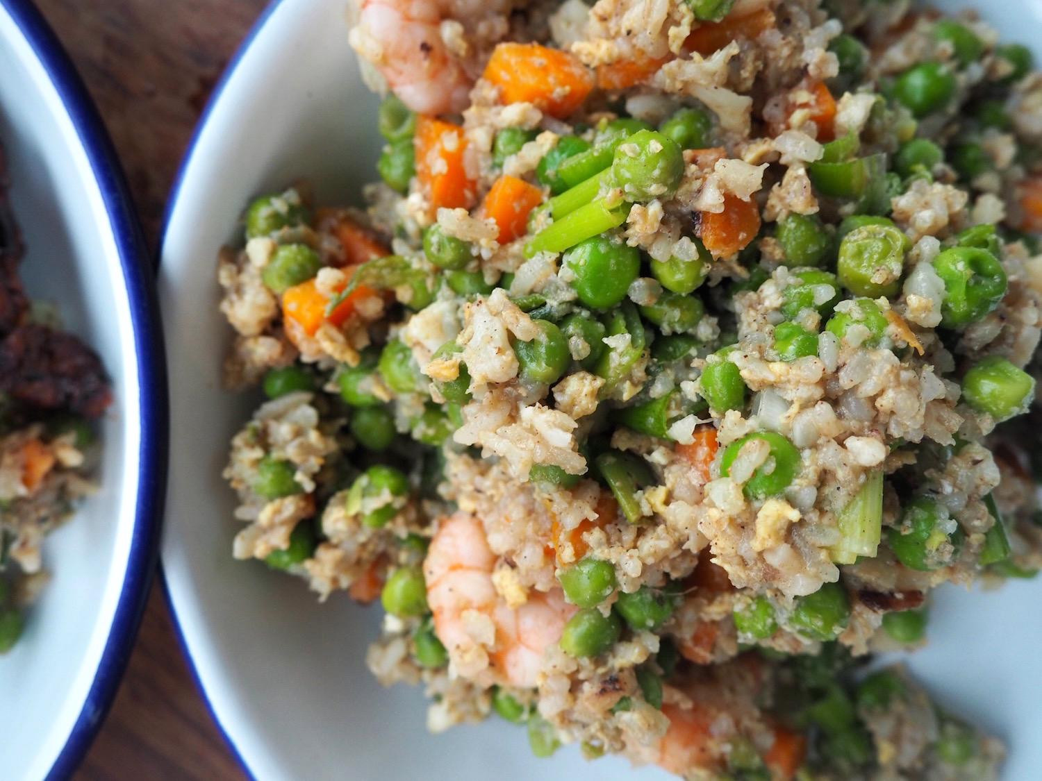 Is Fried Rice Healthy  Healthy Cauliflower Fried Rice Recipe Flash Anthology