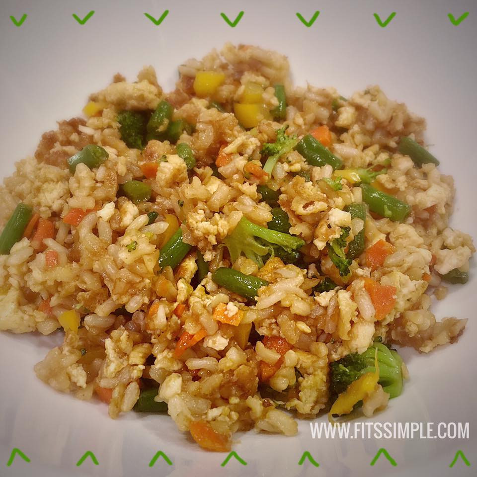 Is Fried Rice Healthy  Healthy Fried Rice 21 Day Fix Approved Recipe